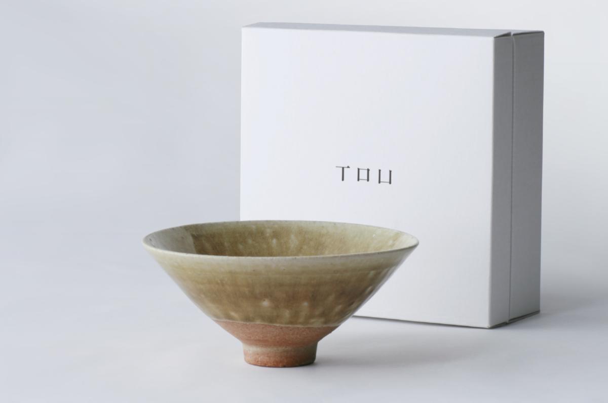 TOU 茶碗 - 鶯釉 -