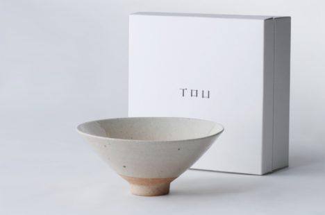 TOUシリーズ 茶碗 -並白-
