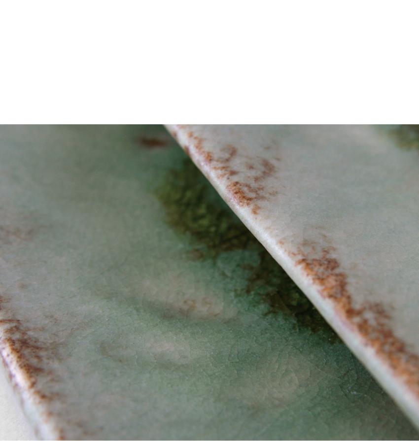緑伊良保 - 正角皿