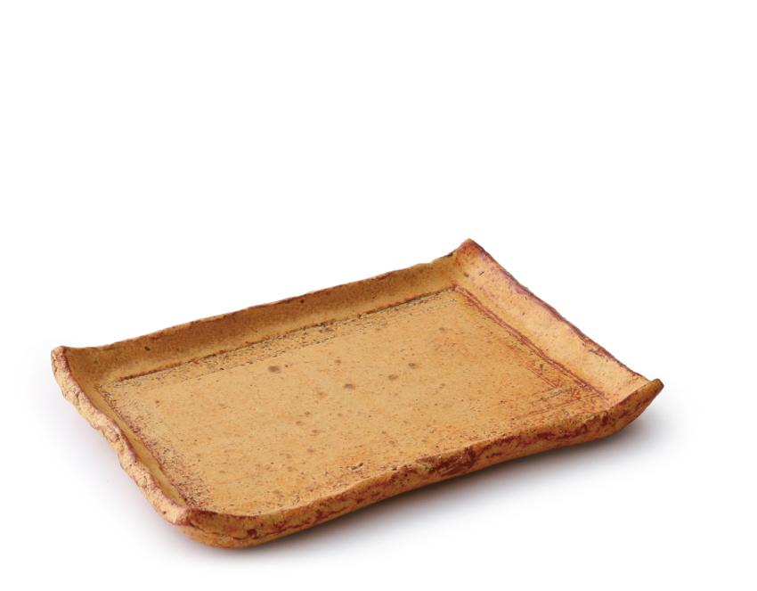 伊良保 長角皿 21.5cm × 15.0cm