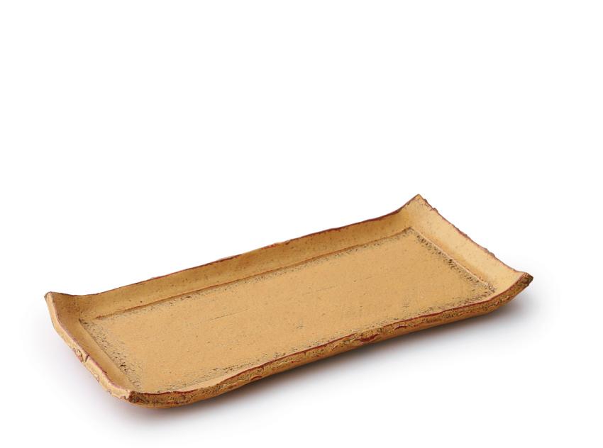 伊良保 長角皿 24.5cm × 11.5cm