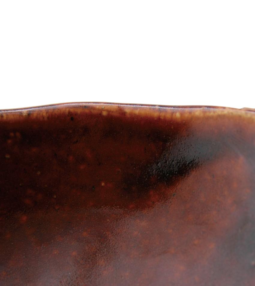 飴釉 - グラタン皿