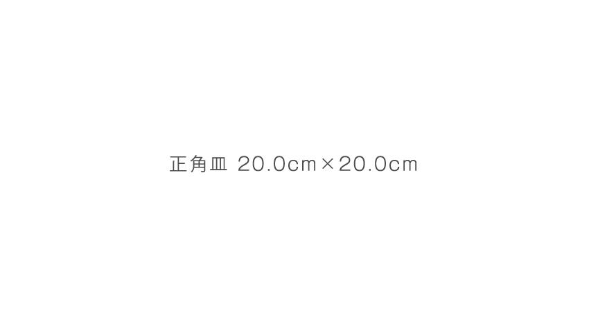 炭火 - 20.0cm×20.0cm