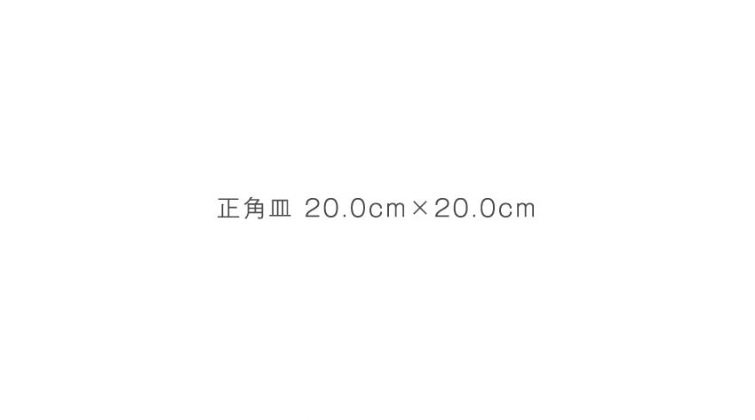 炭火 - 20.0cm×20.0cm - 18.0cm×18.0cm