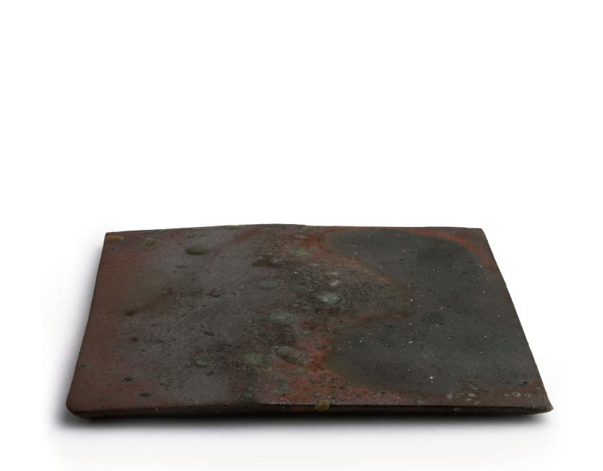 炭火 正角皿 20.0cm × 20.0cm