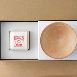感謝米と茶碗のセット